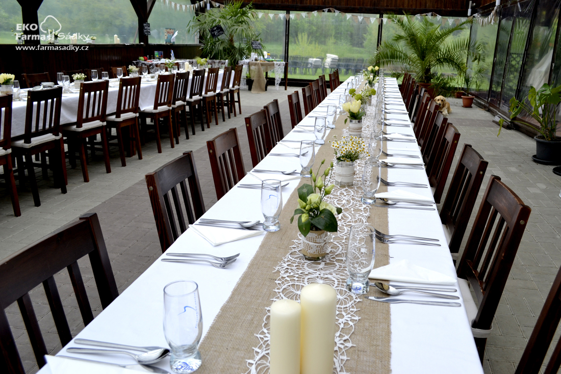 Svatba V Bile A Prirodni Barve Inspirace Agropenzion Sadky